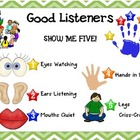 Good Listeners - Show Me 5 Poster
