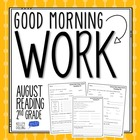 Good Morning Work - Reading - August (2nd Grade)