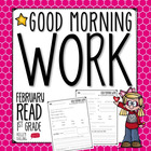 Good Morning Work - Reading - February (1st Grade)