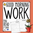 Good Morning Work - Reading - May (1st Grade)