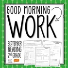 Good Morning Work - Reading - September (2nd Grade)