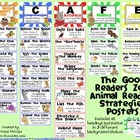 Good Readers Zoo Animal Reading Strategies Posters