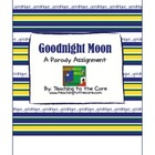 Goodnight Moon: A Parody Writing Lesson