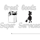 Goods and Services Book for Kindergarten