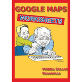 Google Maps Activity Sheets