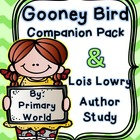 Gooney Bird Green ELA Activities & Lois Lowry Author Study!