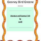 Gooney Bird Greene Book Unit with Literary and Grammar Activities