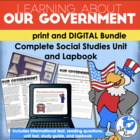 Government Unit & Lapbook {Complete Unit with informationa