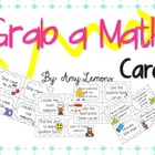 Grab a Math Card FREEBIE!