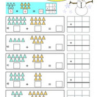Grade 1 Addition Sample Worksheet: Making Math Visual