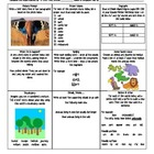Grade 2 Reading Wonders Choice Board - Unit 2 Week 3