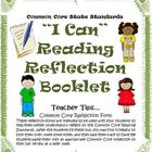 Grade 3, 4, 5, Reading Literature I Can Student Booklet an