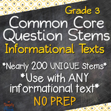 Grade 3 CCSS Reading: Informational Texts Annotated Standa