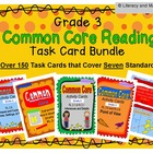 Grade 3 Common Core Reading Task Card Bundle