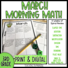 Grade 3 Morning Math Review: March