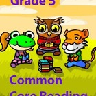Grade 5 Common Core Reading: Informational Text about Blood