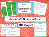 Grade Five Common Core Lesson Pack - Designer Dots