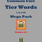 Grades 3-5 Tier Word Mega-pack