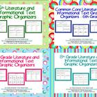 Grades 5-8 Common Core Graphic Organizers - Multi User License