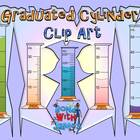 Graduated Cylinders Clip Art