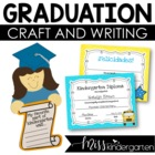 Graduation Buddies- Craft and Writing Templates