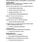 Grammar - Apostrophe Rules Notes and Worksheet