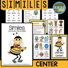 "Grammar Center Game ""Similes!"" Word Work / Writing / Homework"
