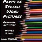 Grammar: Painting Parts of Speech Word Pictures