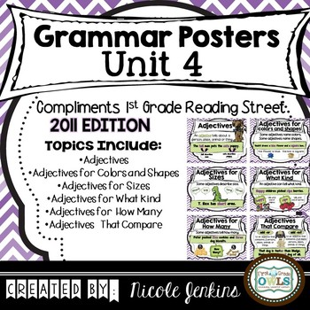 Grammar Posters Reading Street Unit 4 - 2011 Version