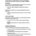 Grammar - Practice Tightening Wordy Sentences Notes and Worksheet