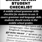 Grammar Review Checklist