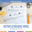 Grammar Single: Active and Passive Voice in Verbs
