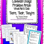 Grammar Usage: There, Their, They're Quiz & Anchor Chart
