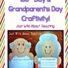 100th Day &Grandparents Day Craftivity