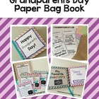 Grandparents Day:  Paper Bag Book
