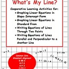 Graph Equations of Lines & Write Equations of Lines Thru T