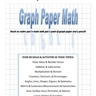 Graph Paper Math - Fractions and Decimals teaching guide and unit
