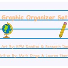 Graphic Organizer Set -- (Sequence, KWL, Venn Diagram, and