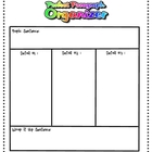 Graphic Organizer for Paragraph Writing