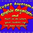 Graphic Organizers and Reader Response Sheets for K, 1, and 2