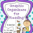 Graphic Organizers for Reading - PK, K, 1, 2