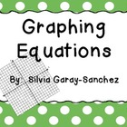 Graphing Equations on the Coordinate Grid