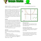 Graphing Functions with Green Globs Software