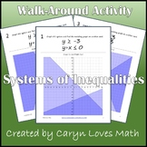 Graphing Systems of Linear Inequalities~Walk Around Activity~