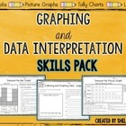 Graphing and Data Interpretation Skills Pack