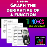 Graphing the derivative of a function on a TI Graphing Calculator