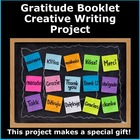Gratitude Booklet Creative Writing Project