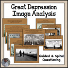 Great Depression Image Analysis and Questioning Activity