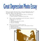 Great Depression Photo Essay