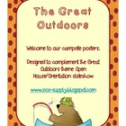 "Great Outdoors ""Welcome To Our Campsite"" Posters"